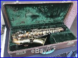 Saxophone vintage 1930's Super Tone Sax SuperTone Professional