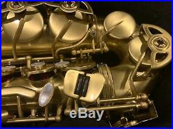 Selmer AS-42 Professional Alto Sax with Paris Neck Brushed Matte Finish AS42M