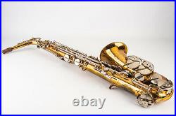 Selmer Bundy II Alto Saxophone Sax with Hard Shell Case V17