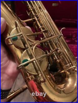 Selmer Bundy Vintage Alto Saxophone With Case Original Rare Sax Nice! Used