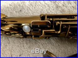 Selmer Cigar Cutter Alto Sax