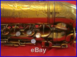 Selmer Cigar Cutter Alto Sax. Fully Repadded. In Excellent Condition