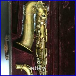 Selmer Cigar Cutter Alto Sax Overhauled 1930s Vintage Henri Paris