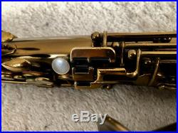 Selmer Cigar Cutter Alto Sax Wonderful Horn