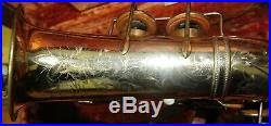 Selmer Gold Plated Model 22 Alto Sax EXTREMELY RARE