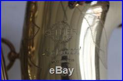 Selmer MKVI Alto Sax in showroom condition VIDEO ADDED