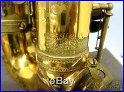 Selmer Mark VI 6 Alto Saxophone Sax 1962 Vintage Rare WithHard Case