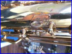 Selmer Mark VI 6 Alto Saxophone Sax Vintage Rare WithHard Case Used