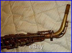 Selmer Mark VI Alto Sax/Saxophone, 1965, Mostly Bare Brass, Plays Great