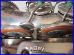 Selmer Mark VI Silver Alto Sax Saxophone MAKE AN OFFER AS 117