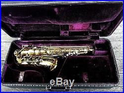 Selmer Paris Mark VI Alto Sax, stunning original condition, near mint