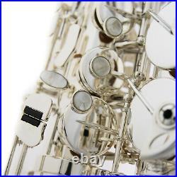 Selmer Paris SA80 Series II Alto Saxophone Jubilee AG Silver Plated