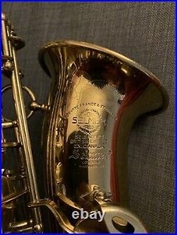 Selmer Super Balanced Action SBA Alto Sax Saxophone