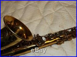 Selmer Super Balanced Action SBA Alto Sax/Saxophone, Original, Nice, PlaysGreat