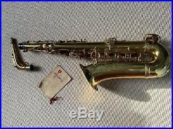 Selmer Super Balanced Action (SBA) Alto sax 1954