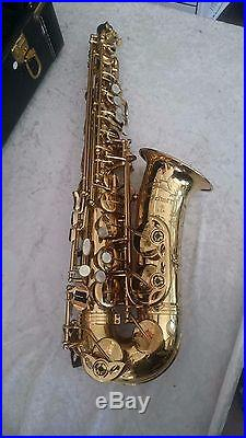 Selmer USA Alto Sax with lots of extras ships in 24 hours