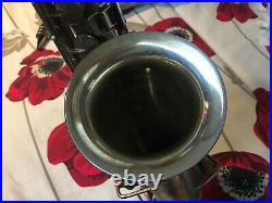 Silver King Alto sax 1920s. Plays well