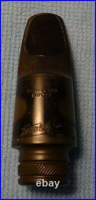 Steve Broadus alto sax mouthpiece Doc Tenney Custom to Meyer-Like NY 5