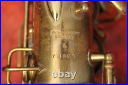 Superb 1921 Professional Conn New Wonder Alto Sax Serial #72356