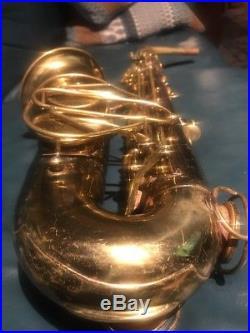 The Martin Alto Saxophone (sax) Fresh Overhaul