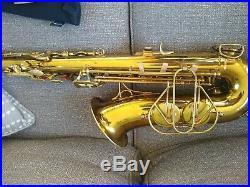 The Martin Alto saxophone fresh overhaul, sax gormet black pads