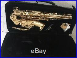 Trevor James Alto Sax The Horn Revolution excellent condition, plays beautifully