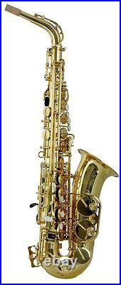 Trevor James Horn Classic II Alto Sax Outfit Gold Lacquer
