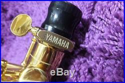 USED YAMAHA Standard Alto Sax YAS-875 with Hard Case 160926