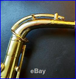Unique Historical Millereau Alto Saxophone, first patent after Adolphe Sax 1866