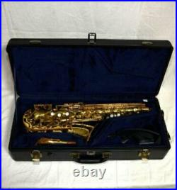 Used YAMAHA YAS-32 Alto Sax Saxophone with Case Strap Neck Good from Japan Music