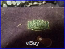 VINTAGE 1920's BUESCHER ALTO SAX WITH CARRY CASE