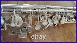 VINTAGE CG CONN 1929 Chu Berry Sax A ALTO L #M236976 WITH HARD CASE Elkhart