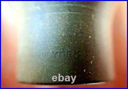 VINTAGE MEYER NEW YORK, USA SMALL CHAMBER ALTO SAX MOUTHPIECE WithORIGINAL BOX