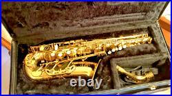 VTG 1979 BEAUTIFUL SELMER MARK VII Eb ALTO SAX With ORG HARDCASE+ BAG NICE