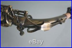 Venus ALTO SAXOPHONE Sax Antiqued Brushed Bronze Finish NEW