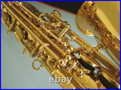 Venus ALTO SAXOPHONE Sax Gold Lacquer with Case- SALE