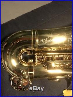 Very Rare Yamaha Yas-855 Custom Alto Saxophone Sax