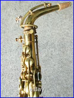 Vintage 1927 THE BUESCHER True Tone Alto Sax Saxophone! GREAT POTENTIAL