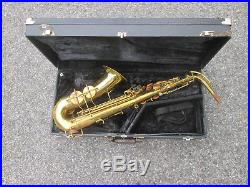 Vintage 1950s Buescher Elkhart 20A USA Alto Sax Alto Saxophone! NICE PLAYER