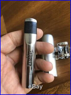 Vintage 1980s Beechler belite 6 alto sax mouthpiece made by Charles Black