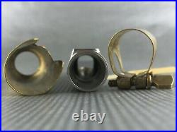 Vintage 40's Slant Berg Larsen Alto Sax Offset Duck Bill Saxophone Mouthpiece
