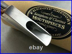 Vintage Beechler Freddie Gregory Custom Bellite Alto Sax Saxophone Mouthpiece