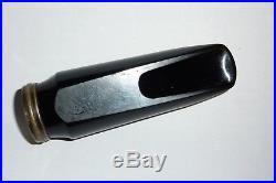 Vintage Beechler alto sax mouthpiece