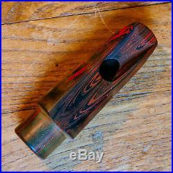 Vintage Berg Larsen 105/1 SMS Grained Ebonite Alto Sax Mouthpiece