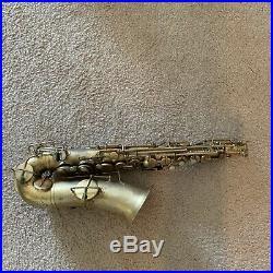 Vintage Buescher Gold Plate Alto Sax in potential Fine Conditions