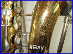 Vintage Bundy Alto Saxophone With Original Case Sax USA