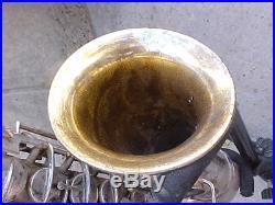 Vintage CONN Silver/Gold 1927 CHU BERRY ALTO SAX SAXOPHONE with Original Case
