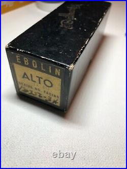 Vintage Carlsbad, CA Brilhart 3 Alto Sax Mouthpiece. 075 With Matching Box