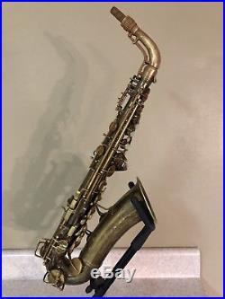 Vintage Conn 6M Naked Lady VIII Alto Saxopone Sax-298xxx-Rolled Tone Holes