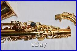 Vintage Conn Alto Saxophone Sax with Case. AS IS